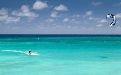 Zanzibar kitesurfing