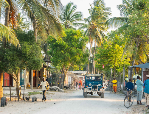 What are the best ways of travelling to and around Zanzibar?